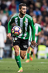 Cristiano Piccini of Real Betis in action during their La Liga match between Real Madrid and Real Betis at the Santiago Bernabeu Stadium on 12 March 2017 in Madrid, Spain. Photo by Diego Gonzalez Souto / Power Sport Images