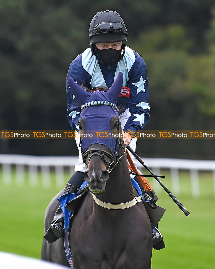 Bonus ridden by Liam Keniry goes down to the start  of The Venture Security Handicap Stakes during Horse Racing at Salisbury Racecourse on 11th September 2020