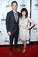 NEW YORK CITY, NY, USA - MAY 04: Joe Carroll, Carly Rae Jepsen at the 29th Annual Lucille Lortel Awards held at the NYU Skirball Center on May 4, 2014 in New York City, New York, United States. (Photo by Jeffery Duran/Celebrity Monitor)