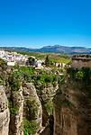 Spanien, Andalusien, Provinz Málaga, Ronda: auf einem Hochplataeau gelegen | Spain, Andalusia, Province Málaga, Ronda: built on an elevated plain