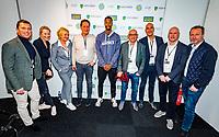 Rotterdam, The Netherlands, 16 Februari 2020, ABNAMRO World Tennis Tournament, Ahoy, Meet and greet with Gaël Monfils (FRA)<br /> <br /> Photo: www.tennisimages.com