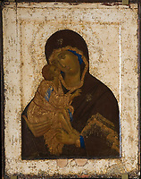 Theophanes the Greek (ca. 1340-ca. 1410)\ State Tretyakov Gallery, Moscow\ 1380s-1390s\ 86x68\ Tempera on panel\ Russian icon \ Russia, Moscow School\ Bible\