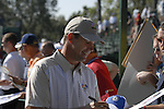 European Team member Padraig Harrington signs autographs for the fans as he makes his way to the 12th tee during Practice Day1 of the 37th Ryder Cup at Valhalla Golf Club, Louisville, Kentucky, USA, 17th September 2008 (Photo by Eoin Clarke/GOLFFILE)