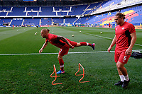 Harrison, NJ - Friday July 07, 2017: Marcel de Jong, Samuel Piette during a 2017 CONCACAF Gold Cup Group A match between the men's national teams of French Guiana (GUF) and Canada (CAN) at Red Bull Arena.