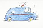 ambulance rushing to emergency