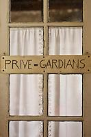 France/13/Bouches du Rhone/Camargue/Parc Naturel Régionnal de Camargue/Saintes Maries de la Mer: Manade des Baumelles. détail habitat