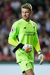 Liverpool FC goalkeeper Simon Mignolet looks up during the Premier League Asia Trophy match between Liverpool FC and Crystal Palace FC at Hong Kong Stadium on 19 July 2017, in Hong Kong, China. Photo by Yu Chun Christopher Wong / Power Sport Images