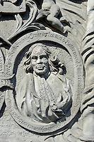Grabstein bei Friedenskirche in Jawor, Woiwodschaft Niederschlesien (Województwo dolnośląskie), Polen, Europa, UNESCO-Weltkulturerbe<br /> Gravestone at Peace Church in Javor , Poland, Europe, UNESCO-heritage site