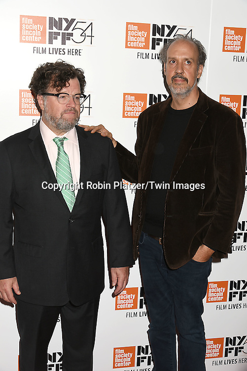 """Kenneth Lonergan and Kent Jones attends the """"Manchester by the Sea"""" Screening at the New York Film Festival on October 1, 2016 at Alice Tylly Hall in Lincoln Center in New York, New York, USA.<br /> <br /> photo by Robin Platzer/Twin Images<br />  <br /> phone number 212-935-0770"""