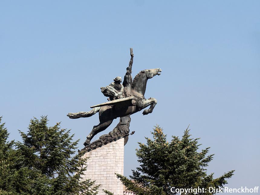 Chollima-Statue in Pyongyang, Nordkorea, Asien<br /> Chollima statue, Pyongyang,, North Korea, Asia