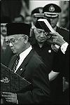 Summer '98-- Jakarta, Indonesia -- President Habibee is sworn in after President Suharto resigned after 32 years of rule.