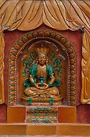 China, Putuo Zhongsheng Miao-Tempel in Chengde, Unesco-Weltkulturerbe