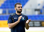 St Johnstone v East Fife…14.07.18…  McDiarmid Park    League Cup<br />New signing Tony Watt appluads the saints fans<br />Picture by Graeme Hart. <br />Copyright Perthshire Picture Agency<br />Tel: 01738 623350  Mobile: 07990 594431