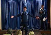 Joe Jacobson during the Wycombe Wanderers 2016/17 Kit launch to the Public at Adams Park, High Wycombe, England on 10 July 2016. Photo by Andy Rowland.