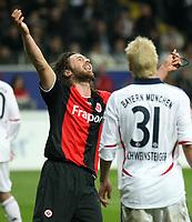 Ioannis Amanatidis (Eintracht) nach verpasster Chance<br /> Eintracht Frankfurt vs. FC Bayern Muenchen, Commerzbank Arena<br /> *** Local Caption *** Foto ist honorarpflichtig! zzgl. gesetzl. MwSt. Auf Anfrage in hoeherer Qualitaet/Aufloesung. Belegexemplar an: Marc Schueler, Am Ziegelfalltor 4, 64625 Bensheim, Tel. +49 (0) 6251 86 96 134, www.gameday-mediaservices.de. Email: marc.schueler@gameday-mediaservices.de, Bankverbindung: Volksbank Bergstrasse, Kto.: 151297, BLZ: 50960101