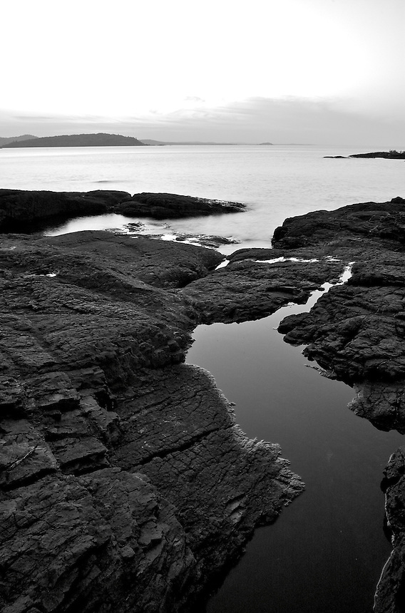 A view from the Black Rocks at Presque Isle Park. Located on Lake Superior in Marquette, MI.