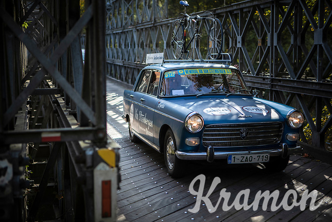 old team car from the Rik Van Steenbergen period.<br /> <br /> 23th Memorial Rik Van Steenbergen 2019<br /> One Day Race: Beerse > Arendonk 208km (UCI 1.1)<br /> ©kramon