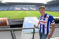VOETBAL: HEERENVEEN: Abe Lenstra Stadion, 18-06-2018, SC Heerenveen, perspresentatie nieuwe speler Sam Lammers, ©foto Martin de Jong