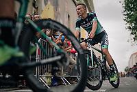 Rafał Majka (POL/BORA-hansgrohe) at the Team presentation in La Roche-sur-Yon<br /> <br /> Le Grand Départ 2018<br /> 105th Tour de France 2018<br /> ©kramon