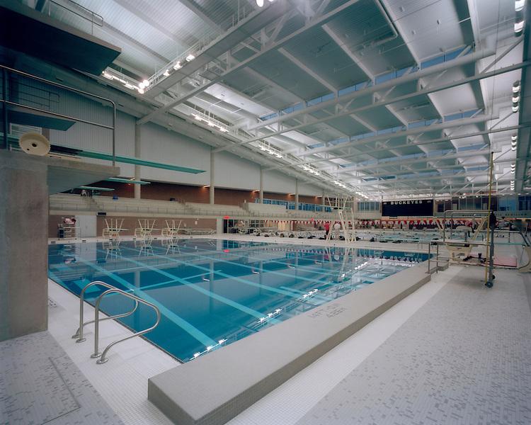 McCorkle Aquatic Pavilion at The Ohio State University Recreation & Physical Activity Center (RPAC) | Antoine Predock & Moody Nolan