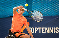 Amstelveen, Netherlands, 22 Augustus, 2020, National Tennis Center, NTC, NKR, National  Wheelchair Tennis Championships, Junior Boys single:  Maarten ter Hofte (NED)<br /> Photo: Henk Koster/tennisimages.com