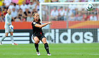 Christie Rampone during the FIFA Women's World Cup at the FIFA Stadium in Dresden, Germany on July 10th, 2011.