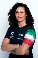Marletta Claudia <br /> 28/02/2020 Ostia ( Roma ) Centro Federale <br /> Portraits Italian Water Polo Women's team <br /> Photo Andrea Staccioli / Insidefoto / Deepbluemedia