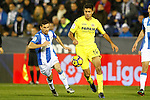 CD Leganes' Alberto Martin (l) and Villarreal CF's Rodri Hernandez during La Liga match. December 3,2016. (ALTERPHOTOS/Acero)