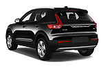 Car pictures of rear three quarter view of 2020 Volvo XC40 Momentum 5 Door SUV Angular Rear