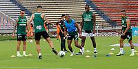 MEDELLÍN- COLOMBIA,  03-04-2021 .Atlético Nacional  y Envigado en partido por la fecha 17 como parte de la Liga BetPlay DIMAYOR 2021 jugado en el estadio Atanasio Girardot  de la ciudad de Medellín. / Atletico Nacional and Envigado during match date 17 Betplay DIMAYOR League I 2021 played at  Atanasio Girardot stadium in Medellín city. Photo: VizzorImage / Donaldo Zuluaga / Contribuidor