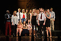 London, UK. 02.06.2015. The PG Acting Class of 2015 in dress rehearsal for their showcase performance at the Criterion Theatre, Piccadilly, London. 2015's final year Postgraduate Acting students present a selection of numbers in their professional showcase. Photograph © Jane Hobson.