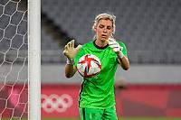 21st July 2021. Tokyo, Japan; Erin Nayler New Zealand goalkeeper during the opening game  Australia versus New Zealand football game at the 2021 Tokyo Olympic Games held in 2021 in Tokyo, Japan.