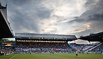 Rangers fans take over the Leppings Lane end at Hillsborough