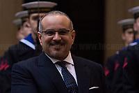03.02.2020 - Salman Bin Hamad Bin Isa Al Khalifa, Crown Prince Of Bahrain at Palazzo Chigi