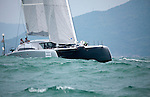 The MC²60 at the start of the Audi Hong Kong to Vietnam Race 2013.<br /> The MC²60 Catamaran is a semi custom high performance luxury catamaran that will set new standards of speed, luxury and elegance.