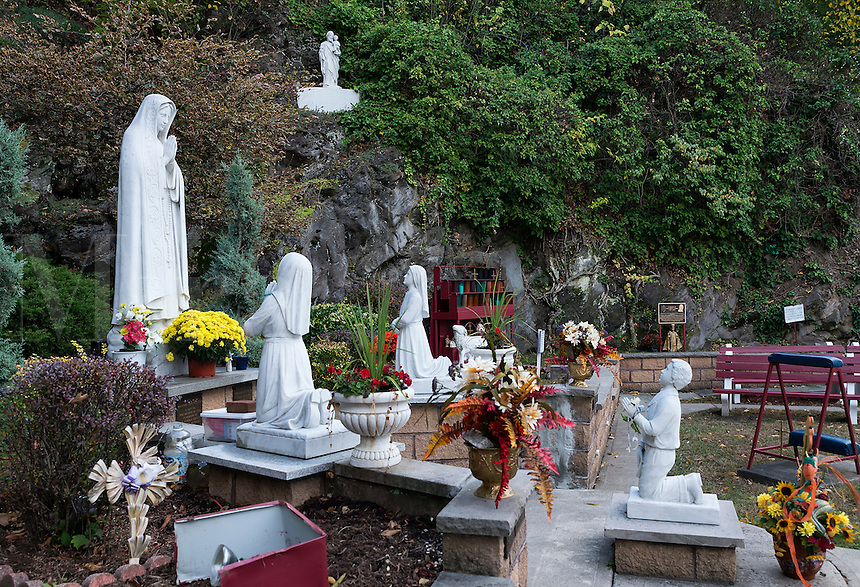 Fatima tribute Catholic shrine, Wilkes-Barre, Pennsylvania, USA