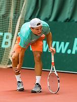 Wateringen, The Netherlands, March 16, 2018,  De Rhijenhof , NOJK 14/18 years, Nat. Junior Tennis Champ.  Yannick Verwater  (NED)<br />  Photo: www.tennisimages.com/Henk Koster