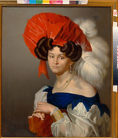 Bazhenov, I.V. (active Mid of 19th cen.)\ State Museum of History, Architecture and Art, Rybinsk\ 1838\ 79,5x66,4\ Oil on canvas\ Classicism\ Russia\ Portrait\