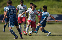 Carson, CA -  July 14, 2017: In the 2016-17 U.S. Soccer Development Academy U-15/16 Semi Finals Atlanta United FC vs Vancouver Whitecaps at StubHub center.