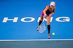 Irina Ramialison of France vs Anastasia Rodionova of Australia during the WTA Prudential Hong Kong Tennis Open at the Victoria Pack Stadium on October 12 2015 in Hong Kong, China. Photo by Aitor Alcalde / Power Sport Images