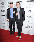 Nathan Fillion and Rainn Wilson at The IFC Midnight L.A. Premiere of SUPER held at The Egyptian Theatre in Hollywood, California on March 21,2011                                                                               © 2010 Hollywood Press Agency