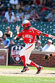 Infielder Ronniel Demorizi (3) during the 2010 Under Armour All-American Game powered by Baseball Factory at Wrigley Field in Chicago, Illinois on August 14, 2010.  (Copyright Mike Janes Photography)