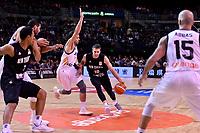 New Zealand Tall Blacks' Tom Abercromble in action during the FIBA World Cup Basketball Qualifier - NZ Tall Blacks v Jordan at Horncastle Arena, Christchurch, New Zealand on Thursday 29 November  2018. <br /> Photo by Masanori Udagawa. <br /> www.photowellington.photoshelter.com