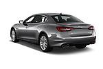 Car pictures of rear three quarter view of a 2017 Maserati Quattroporte S 4 Door Sedan angular rear