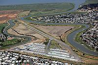aerial photograph of the Smith Ranch airport (CA35), San Rafael, Marin County, California