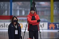 SPEEDSKATING: 24-11-2019 Tomaszów Mazowiecki (POL), ISU World Cup Arena Lodowa, Vadim Sayutin (trainer/coach CHN), ©photo Martin de Jong