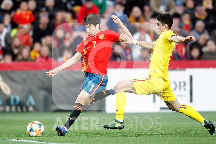 Spain's Carlos Soler    during the International Friendly match on 21th March, 2019 in Granada, Spain. (ALTERPHOTOS/Alconada)