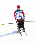 Pyeongchang, Korea, 14/3/2018-Cindy Ouellet competes in the cross country sprints during the 2018 Paralympic Games in PyeongChang. Photo Scott Grant/Canadian Paralympic Committee.