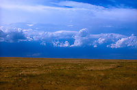 Clouds over field<br />