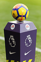 The official Nike match ball during the Premier League match between Watford and Swansea City at the Vicarage Road, Watford, England, UK. Saturday 30 December 2017